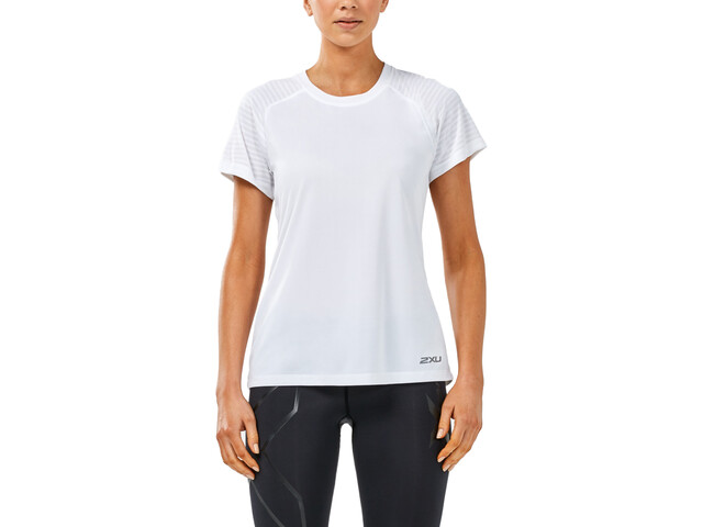2XU X-Vent SS Tee Top Women white/white